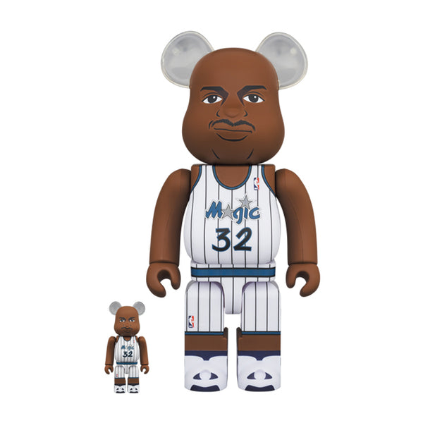 Shaquille O'Neal (Orlando Magic) 100% & 400% BE@RBRICK