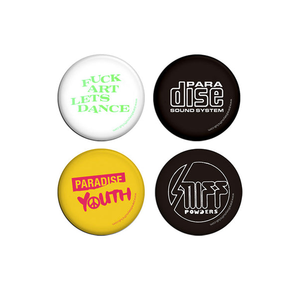 UTOPIAN FREQUENCY PIN PACK