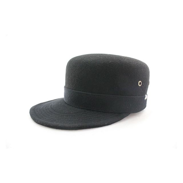 Wool Kepi - Black