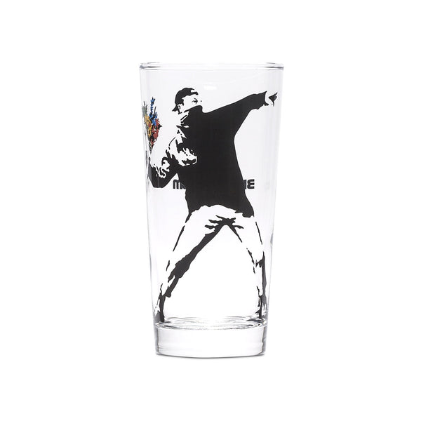 Flower Bomber Tumbler Glass by Banksy