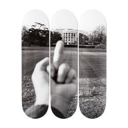 Ai Weiwei - Study of Perspective - White House Skateboard Set