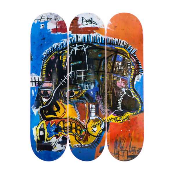 Jean-Michel Basquiat - Skull Skateboard Set