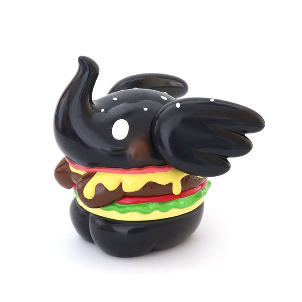 Jumbo Burger Elfie by Too Natthapong - Black