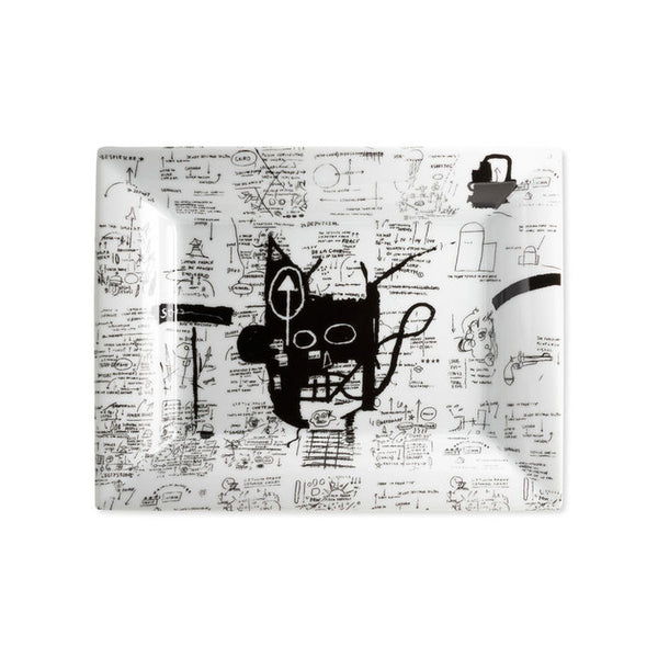 Jean-Michel Basquiat Limoges Porcelain Tray - Return of the Central Figure