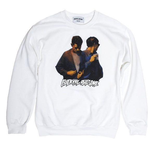White Brothers Crew Neck Shirt