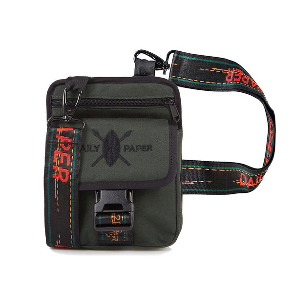 Dark Green Passport Bag