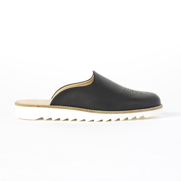 Domingo Slippers - Jet Black