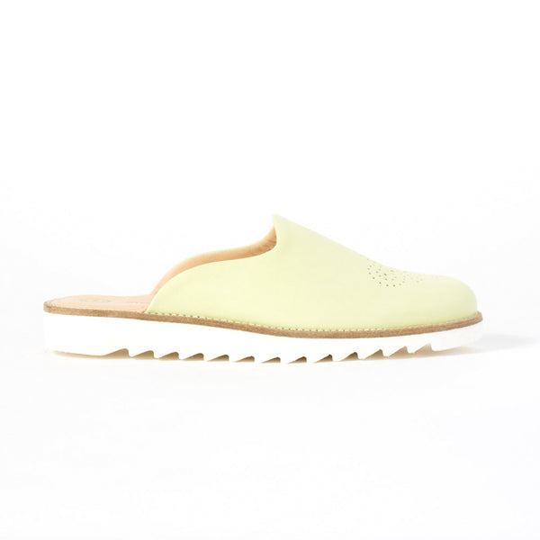 Domingo Slippers - Pale Lime