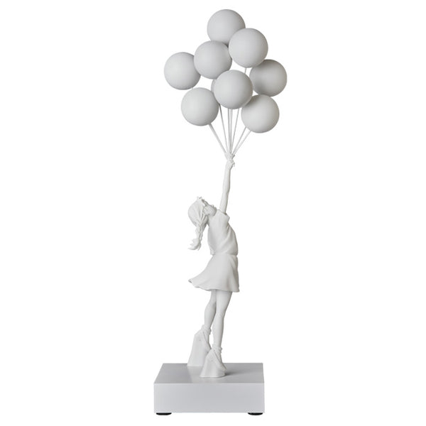FLYING BALLONS GIRL by BANKSY
