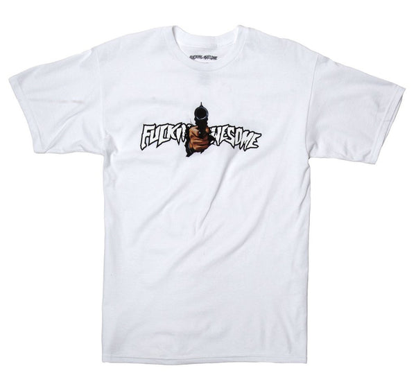 White Breakthru Tee