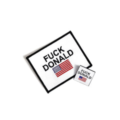 FUCK DONALD PIN AND PATCH SET