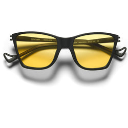 Yellow Black Keiichi Sunglasses