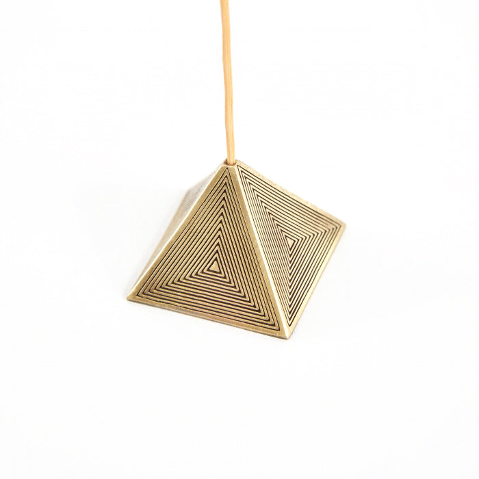Pyramid Incense Holder (2 Colors)