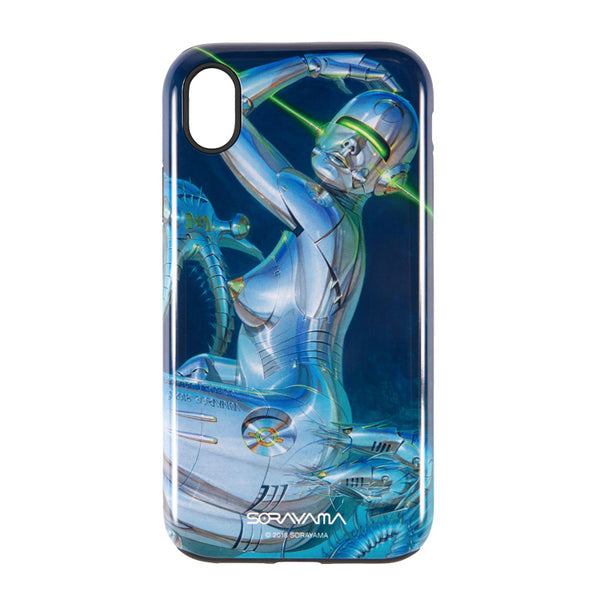 "Sync x Sorayama Mobile Case for iPhone XR ""Sexy  Robot"" - 02"