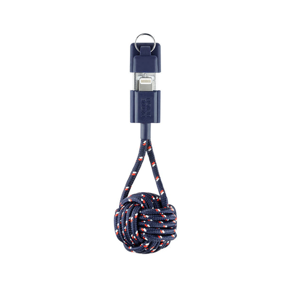 Nautical Apple-Lightning Key Cable