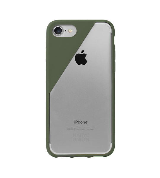 Olive CLIC Crystal iPhone 7 Case