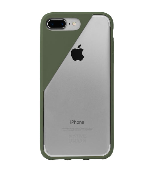 Olive CLIC Crystal iPhone 7 Plus Case
