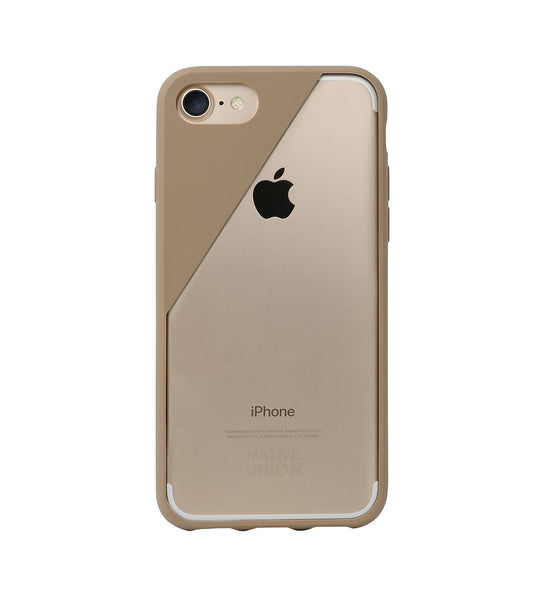 Tan CLIC Crystal iPhone 7 Case