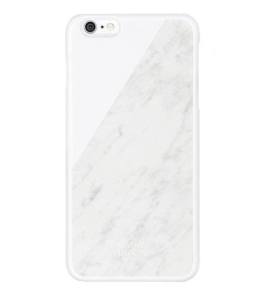 White Marble CLIC iPhone 6/6s Plus Case
