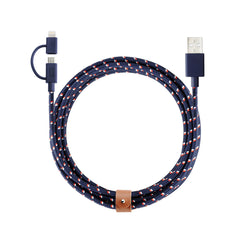 Nautical 2-in-1 Twin Head Belt Cable