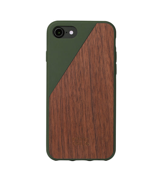 Olive CLIC Wooden iPhone 7 Case