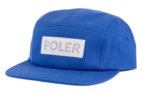 Royal Blue Tracker Camper Hat