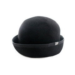 Wool Free Hat - Black