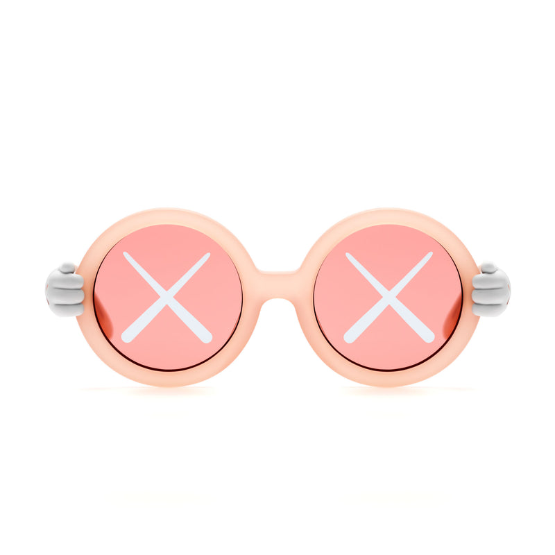 KAWS x Sons + Daughters Sunglasses - Pink