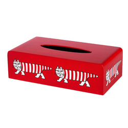 "Sync x Lisa Larson Tissue Box ""Mikey"" by Saito Wood"