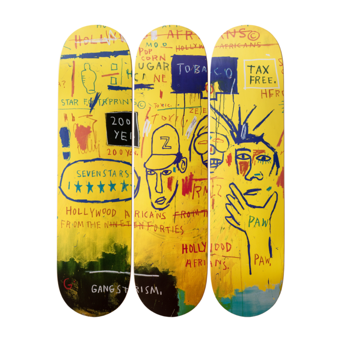 Jean-Michel Basquiat - Hollywood Africans Skateboard Set