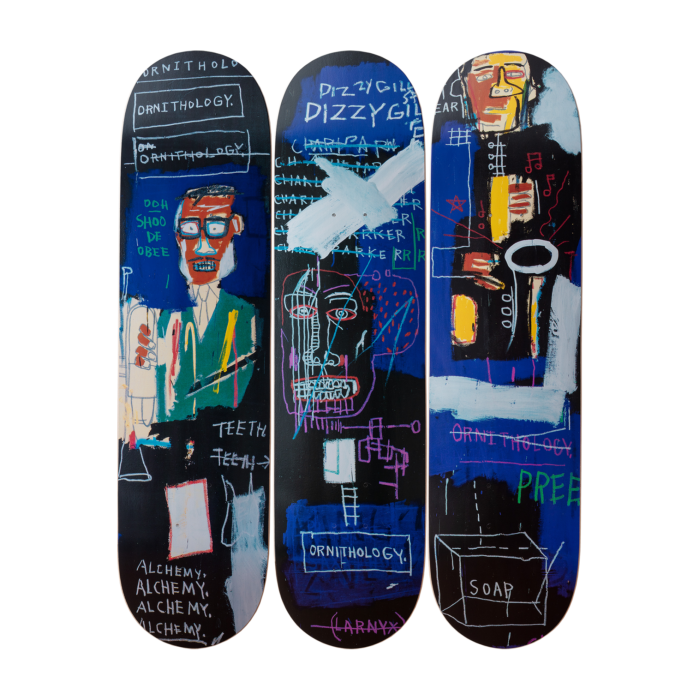 Jean-Michel Basquiat - Horn Players Skateboard Set