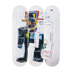 Jean-Michel Basquiat - Irony of the a Negro Policemen Skateboard Set