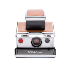 POLAROID SX-70 CAMERA - BROWN