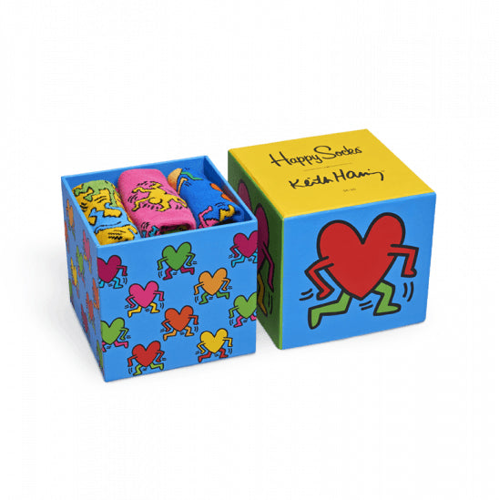 KEITH HARING SOCKS BOX SET