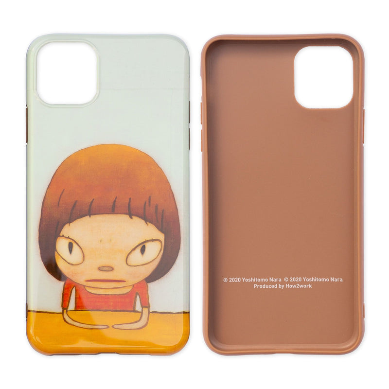 Yoshitomo Nara x How2Work Apple iPhone 11 Pro Max Case - Let's talk about glory