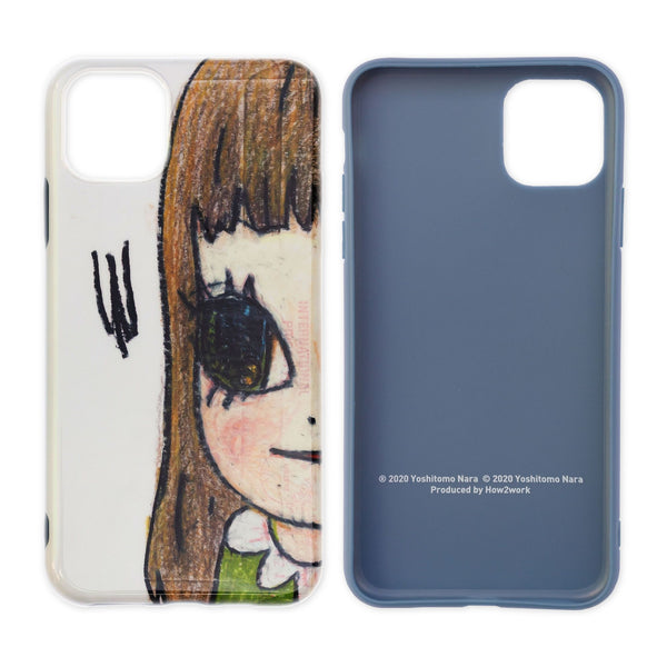 Yoshitomo Nara x How2Work Apple iPhone 11 Pro Max Case - Untitled 2007
