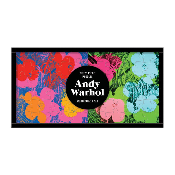 Andy Warhol Wood Puzzle Set