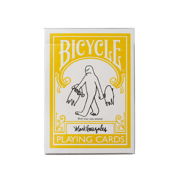 Mark Gonzales x Bicycle Playing Cards