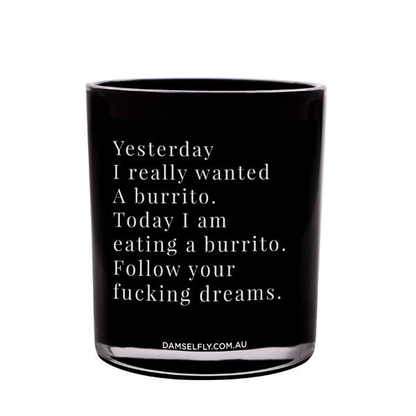 Burrito Dreams - XL Candle