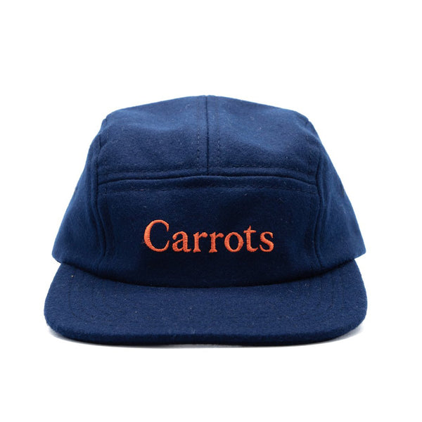 Carrots Wordmark Ebbets Field Flannels 5-Panel Cap - Navy