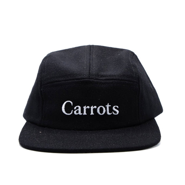 Carrots Wordmark Ebbets Field Flannels 5-Panel Cap - Black