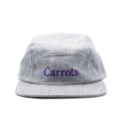 Carrots Wordmark Ebbets Field Flannels 5-Panel Cap - Grey