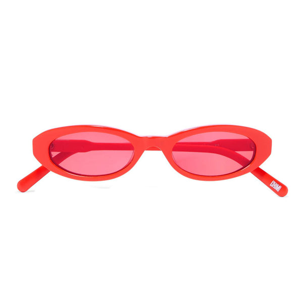 JOEL IGHE - RED SUNGLASSES