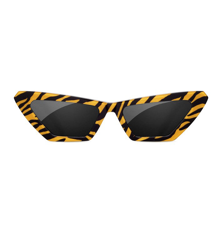 SUNDAE SCHOOL - TIGER SQUARE STRIPE SUNGLASSES