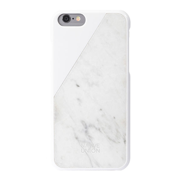 White CLIC Marble iPhone 6 Case