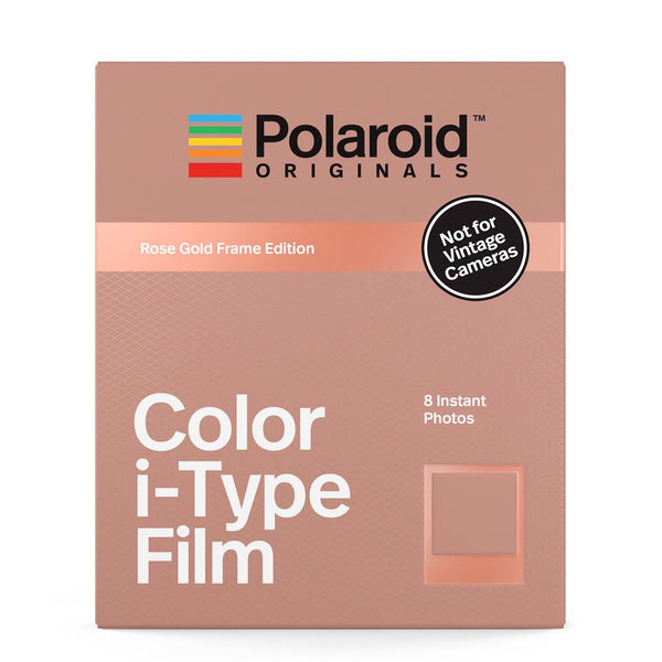 Color i-Type Film Rose Gold Frame Edition
