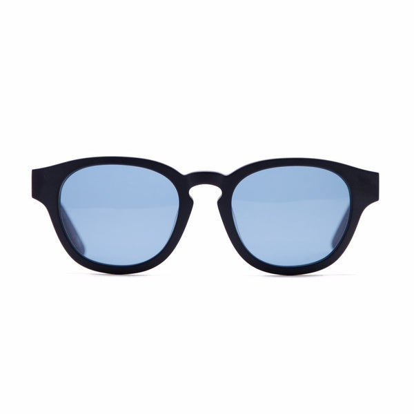 "CARROTS X INARI EYEWEAR ""BETA CAROTENE"" SUNGLASSES - NAVY"