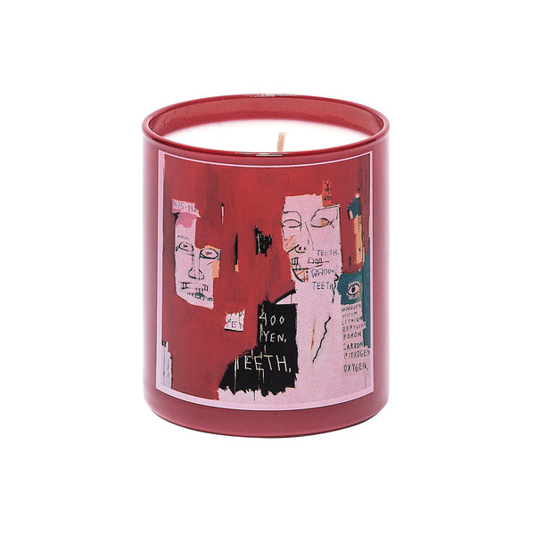 Jean-Michel Basquiat Perfumed Candle - Red