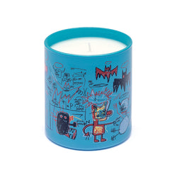 Jean-Michel Basquiat Perfumed Candle - Blue