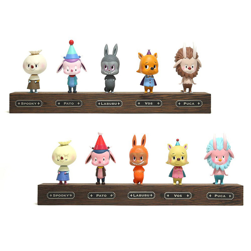 The Monsters Mini Figure Series 2 - Set of 10 by Kasing Lung